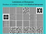 limitations of histograms