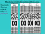 matching with multiresolution histograms