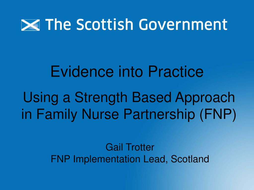 using a strength based approach in family nurse partnership fnp