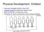 physical development children