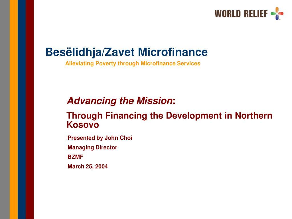 Besëlidhja/Zavet Microfinance