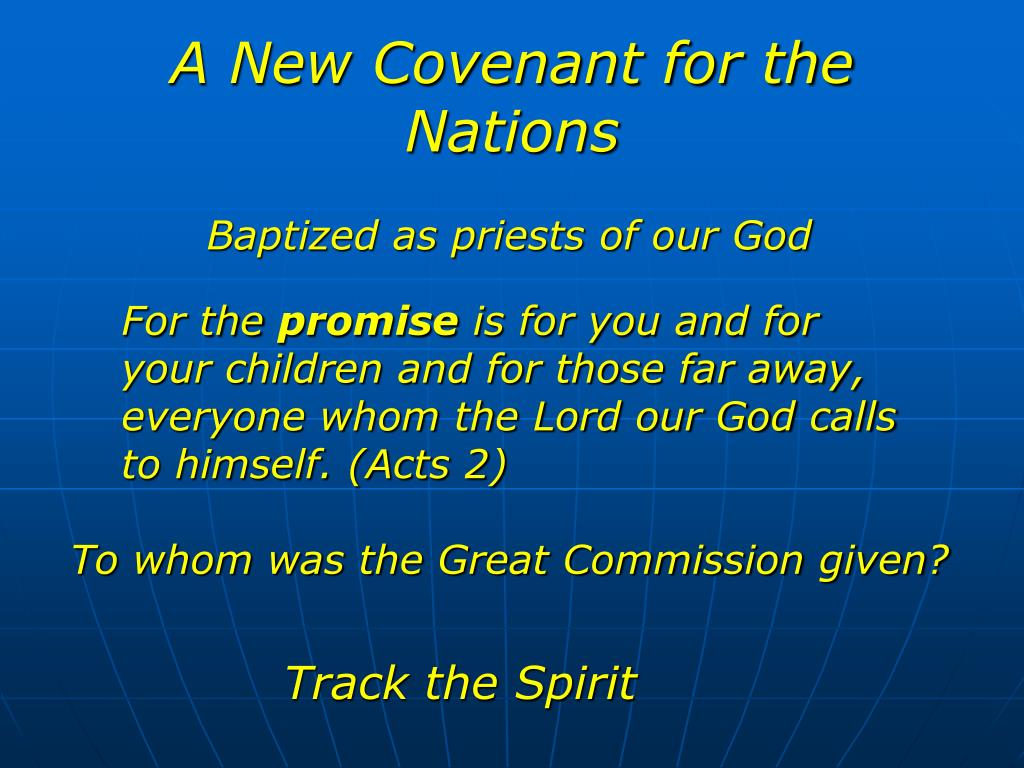 A New Covenant for the Nations