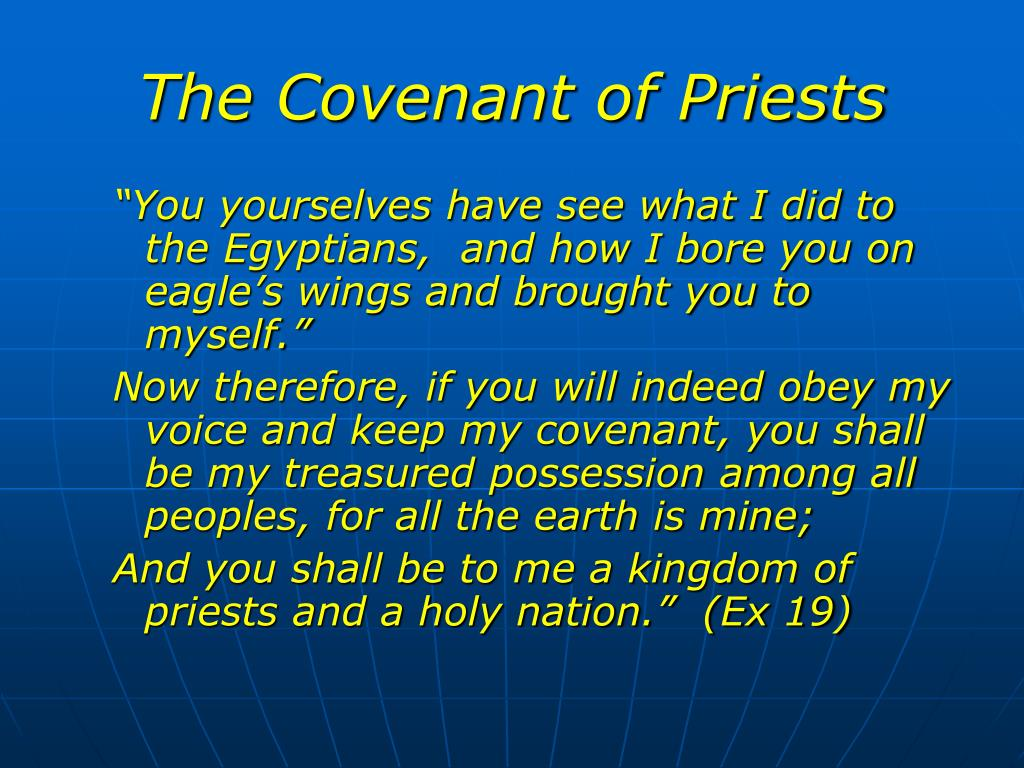 The Covenant of Priests