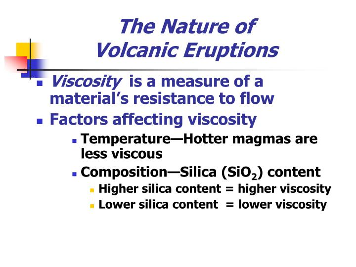The nature of volcanic eruptions3