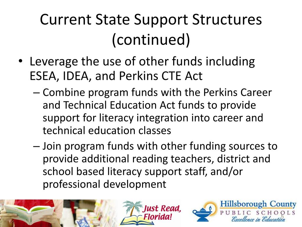 Current State Support Structures (continued)