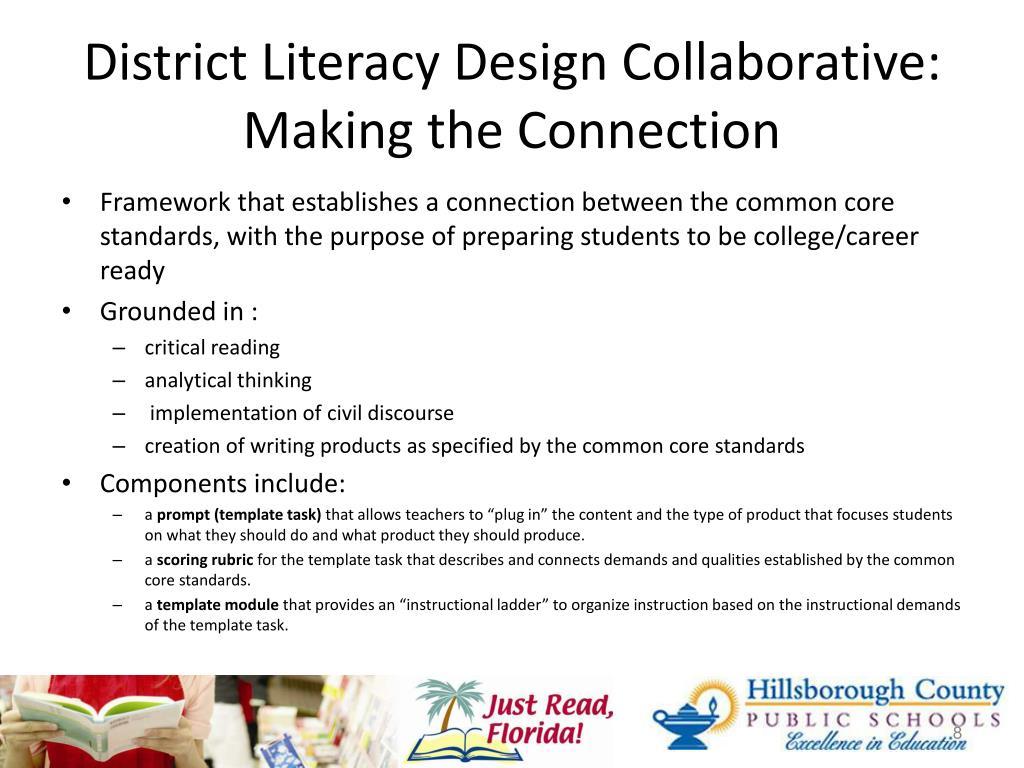 District Literacy Design Collaborative: