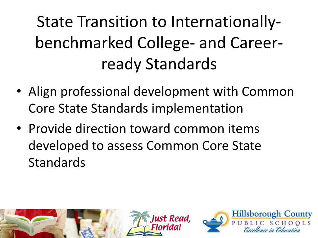 State Transition to Internationally-benchmarked College- and Career-ready Standards