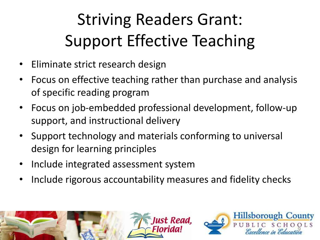 Striving Readers Grant: