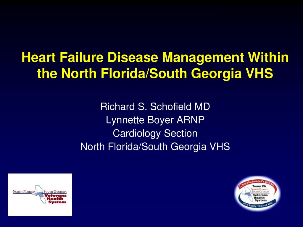 heart failure disease management within the north florida south georgia vhs l.