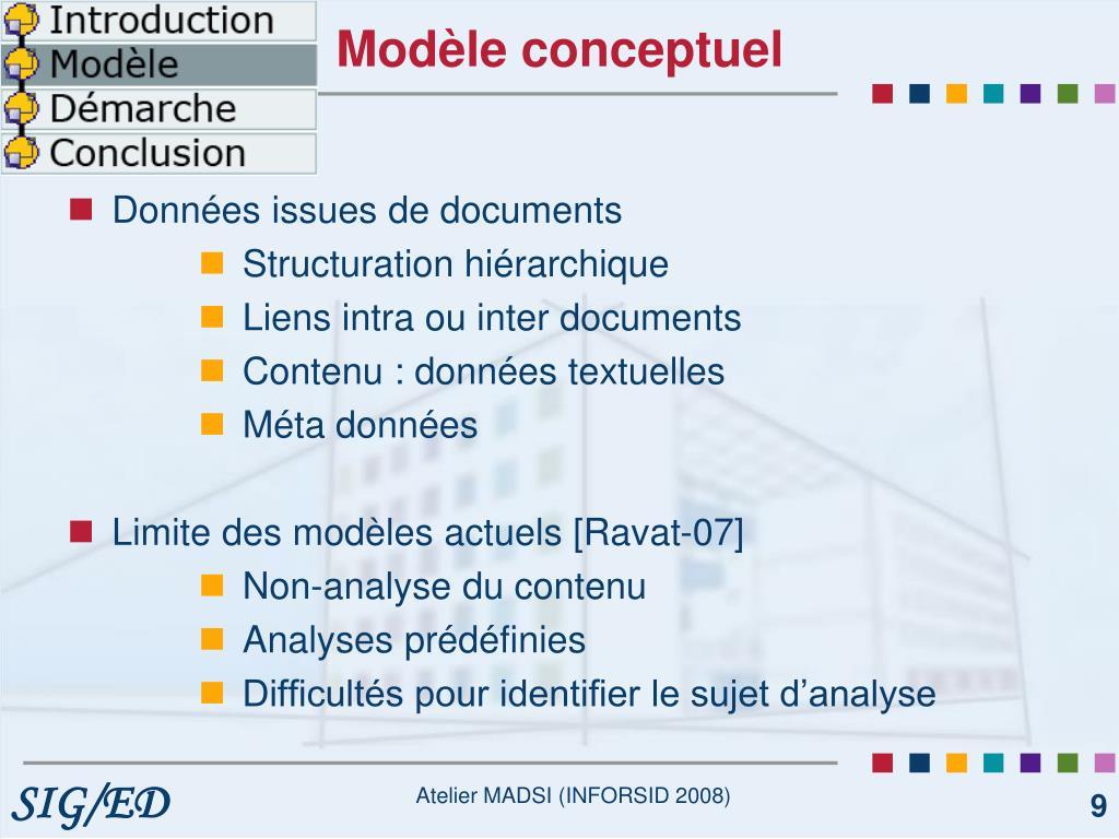 Modèle conceptuel
