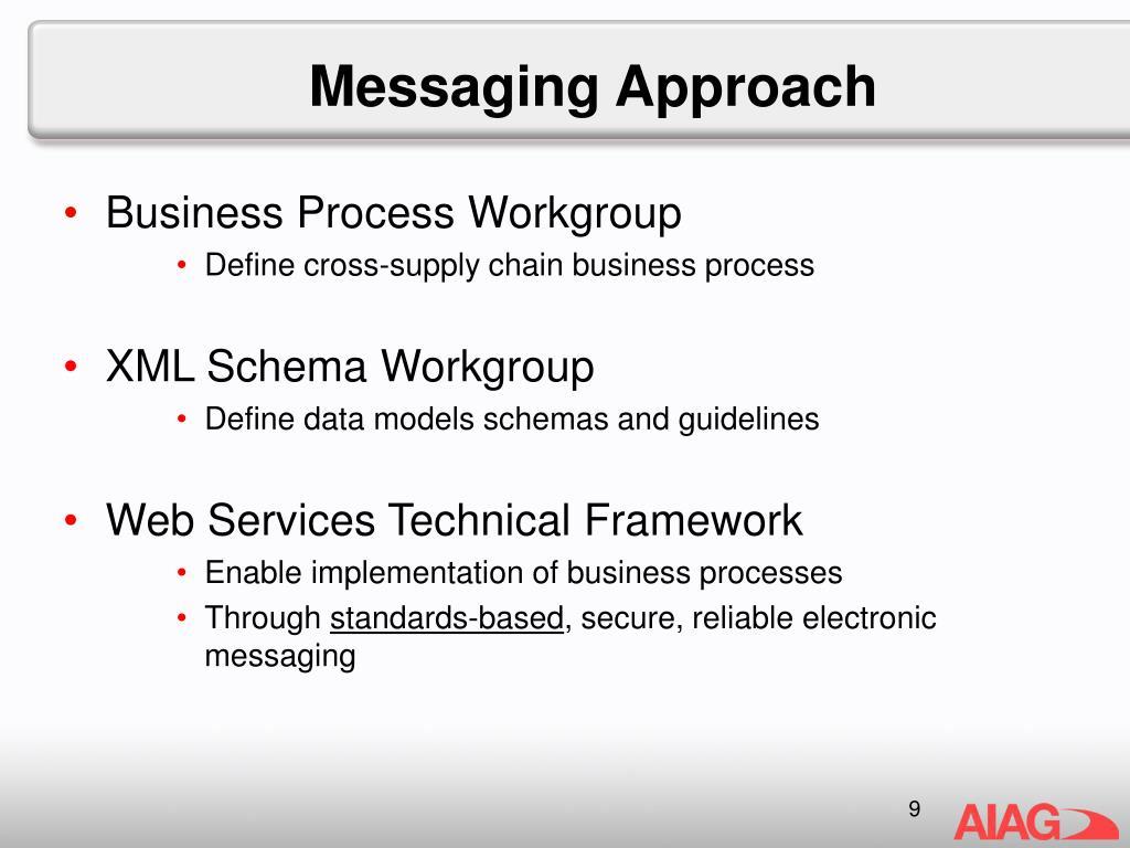 Messaging Approach