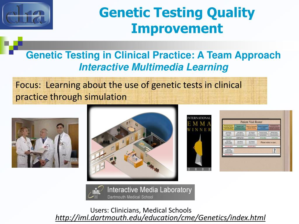 Genetic Testing Quality Improvement