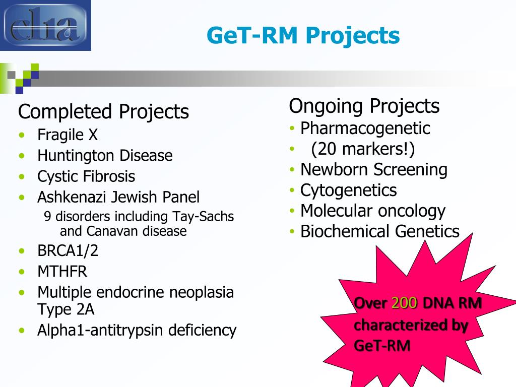 GeT-RM Projects