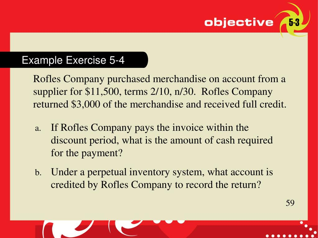 Example Exercise 5-4