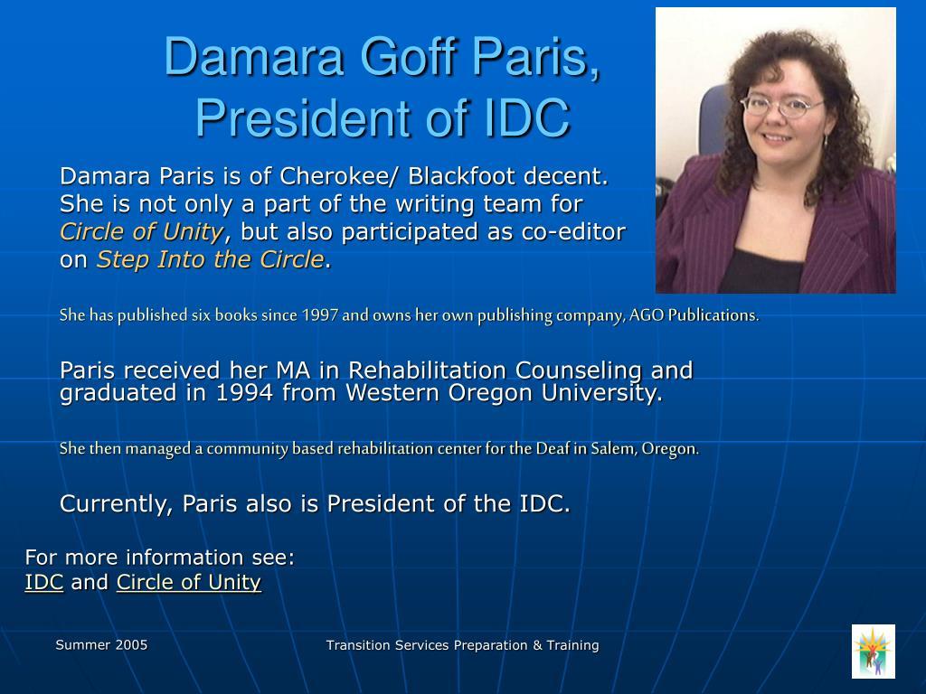 Damara Goff Paris,