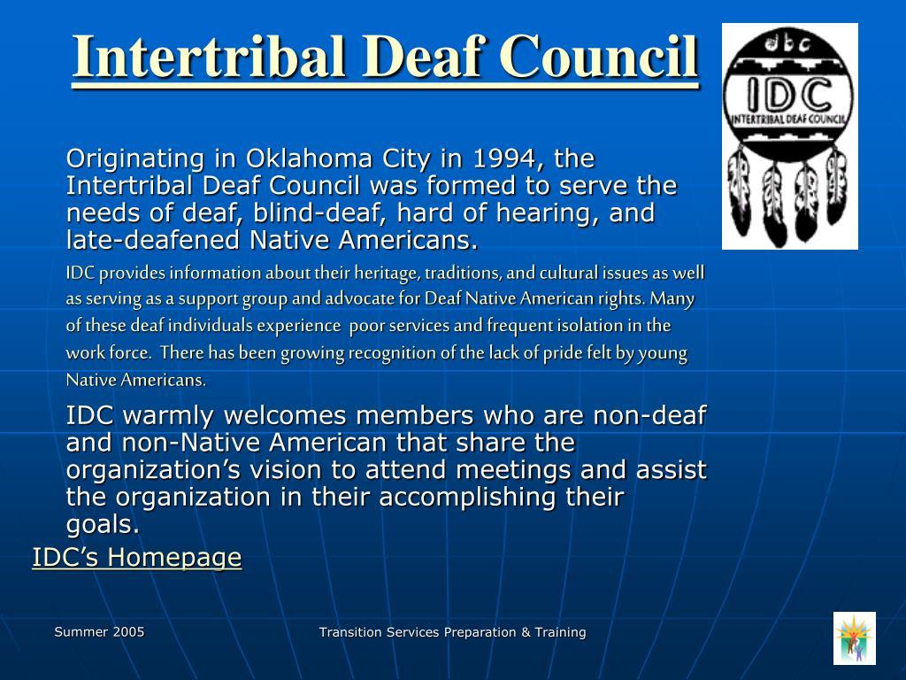 Intertribal Deaf Council