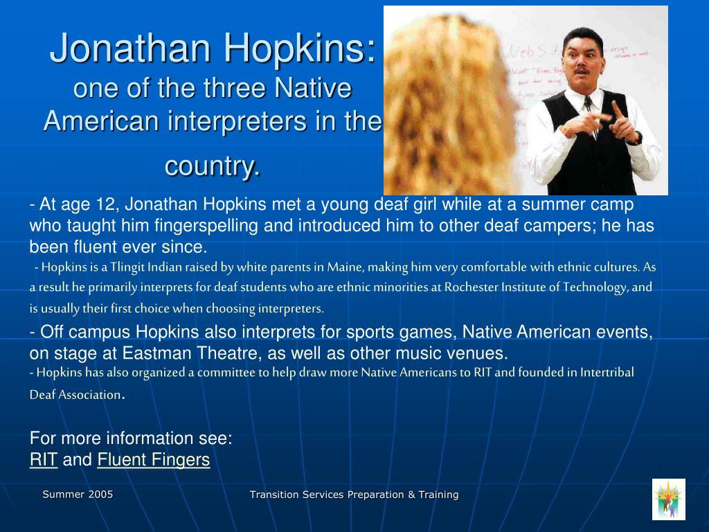 Jonathan Hopkins: