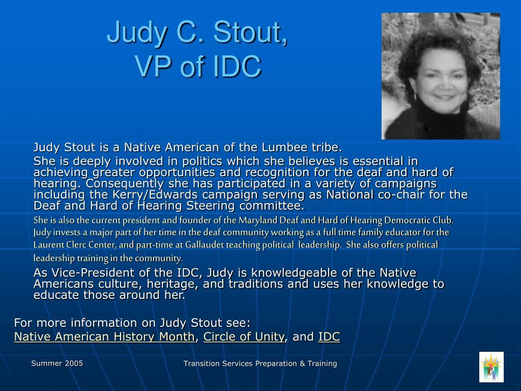 Judy C. Stout,