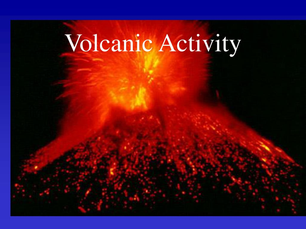 volcanic activity l.