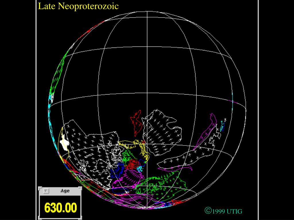 Late Neoproterozoic