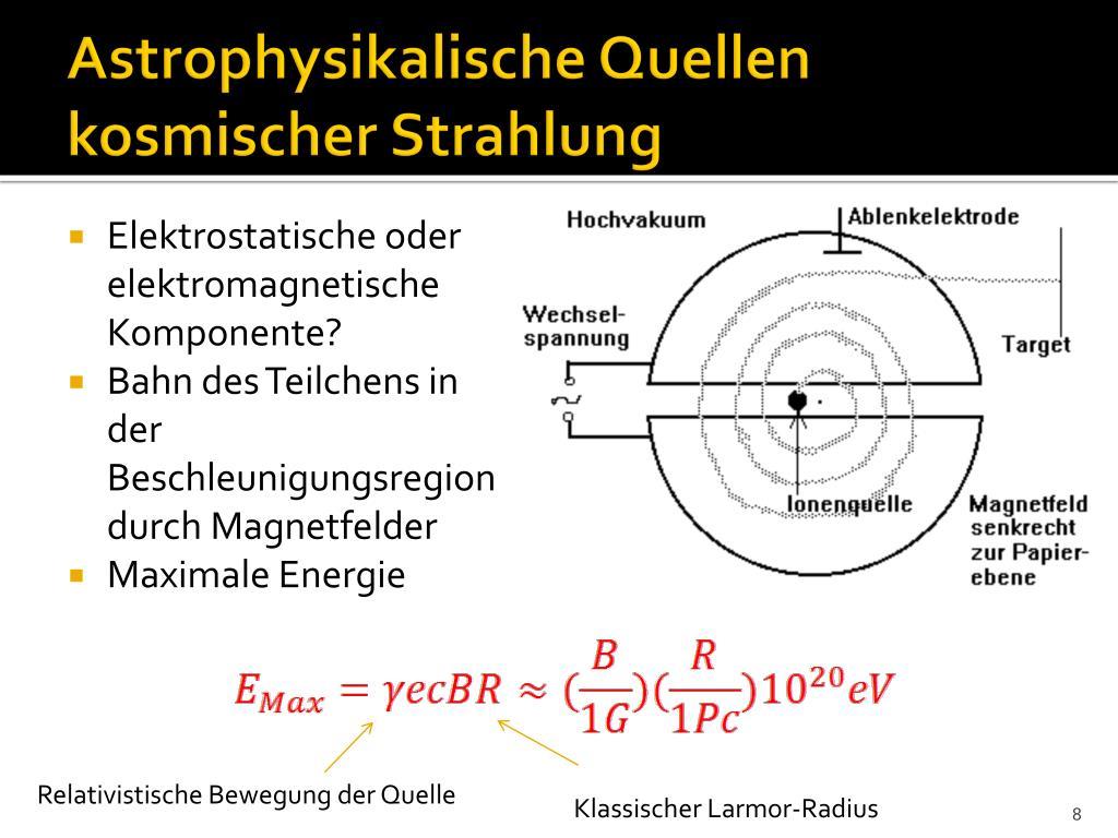 Astrophysikalische Quellen