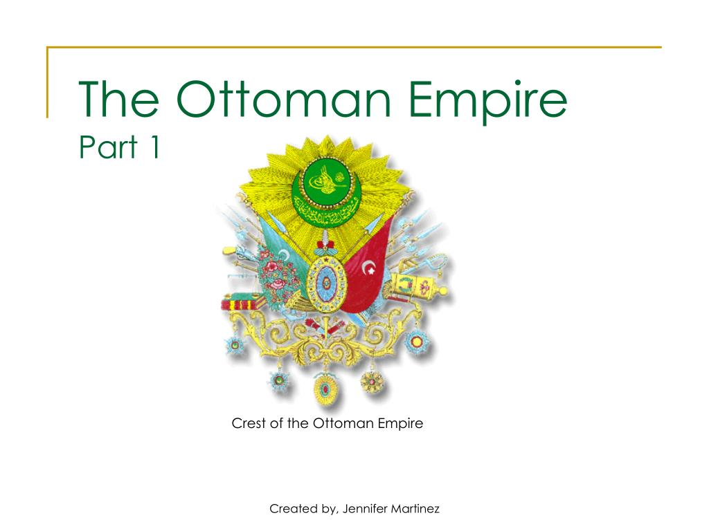 Crest of the Ottoman Empire