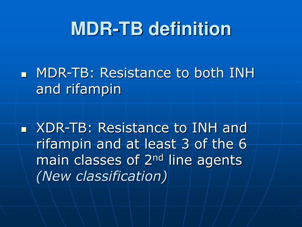MDR-TB definition