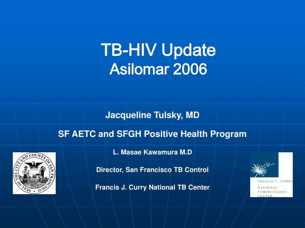 TB-HIV Update