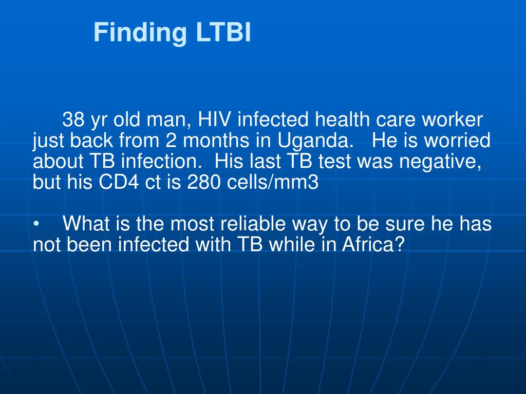 Finding LTBI