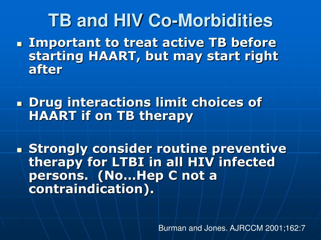 TB and HIV Co-Morbidities