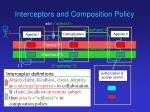 interceptors and composition policy