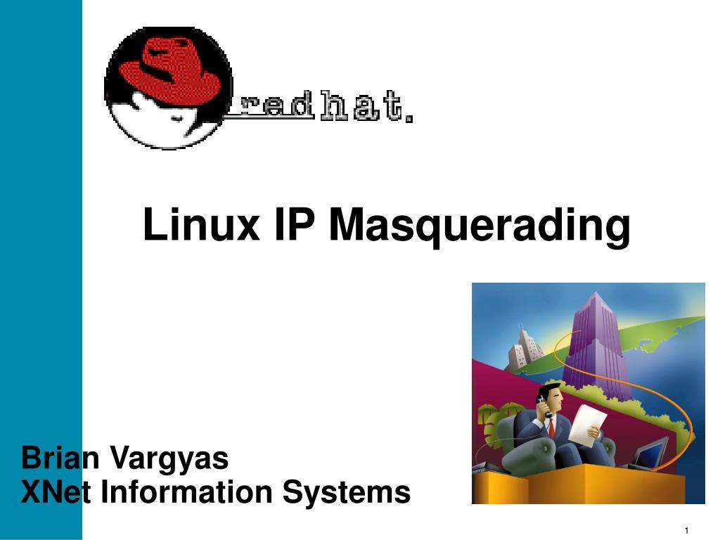 linux ip masquerading l.