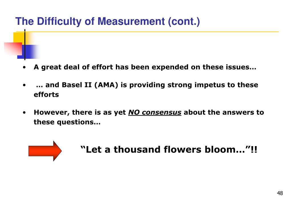 The Difficulty of Measurement (cont.)