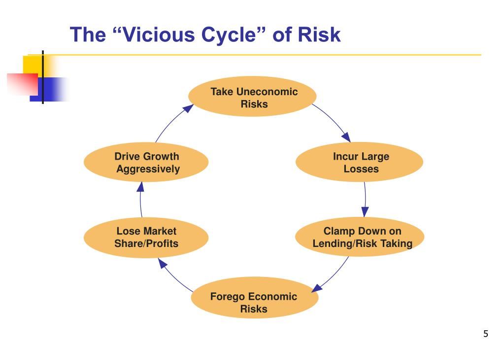 """The """"Vicious Cycle"""" of Risk"""