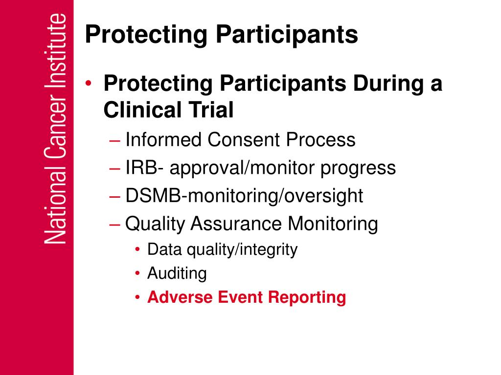 Protecting Participants