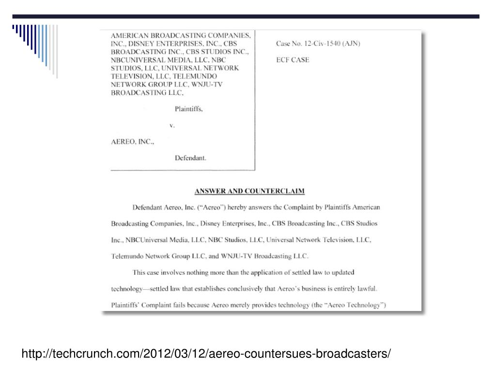http://techcrunch.com/2012/03/12/aereo-countersues-broadcasters/