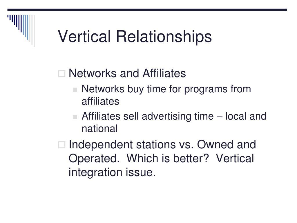 Vertical Relationships