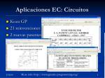 aplicaciones ec circuitos