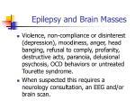 epilepsy and brain masses