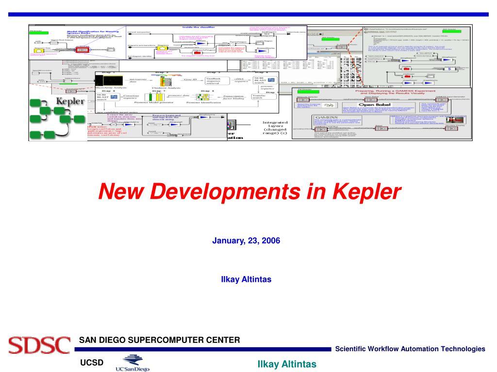 New Developments in Kepler