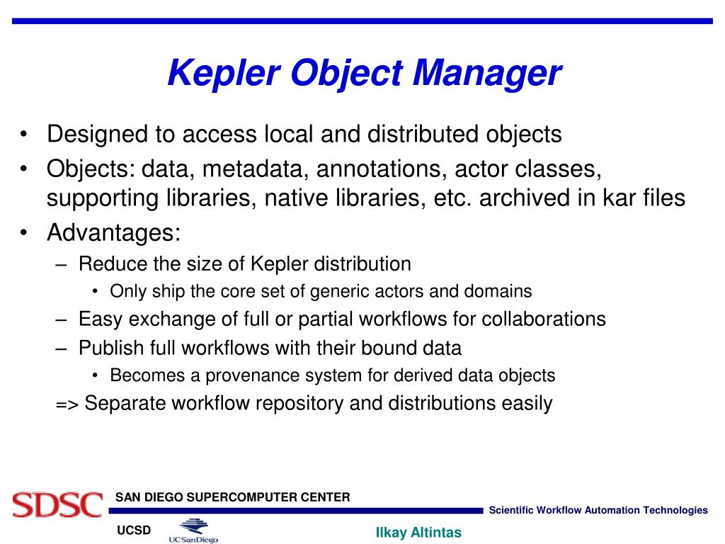 Kepler Object Manager