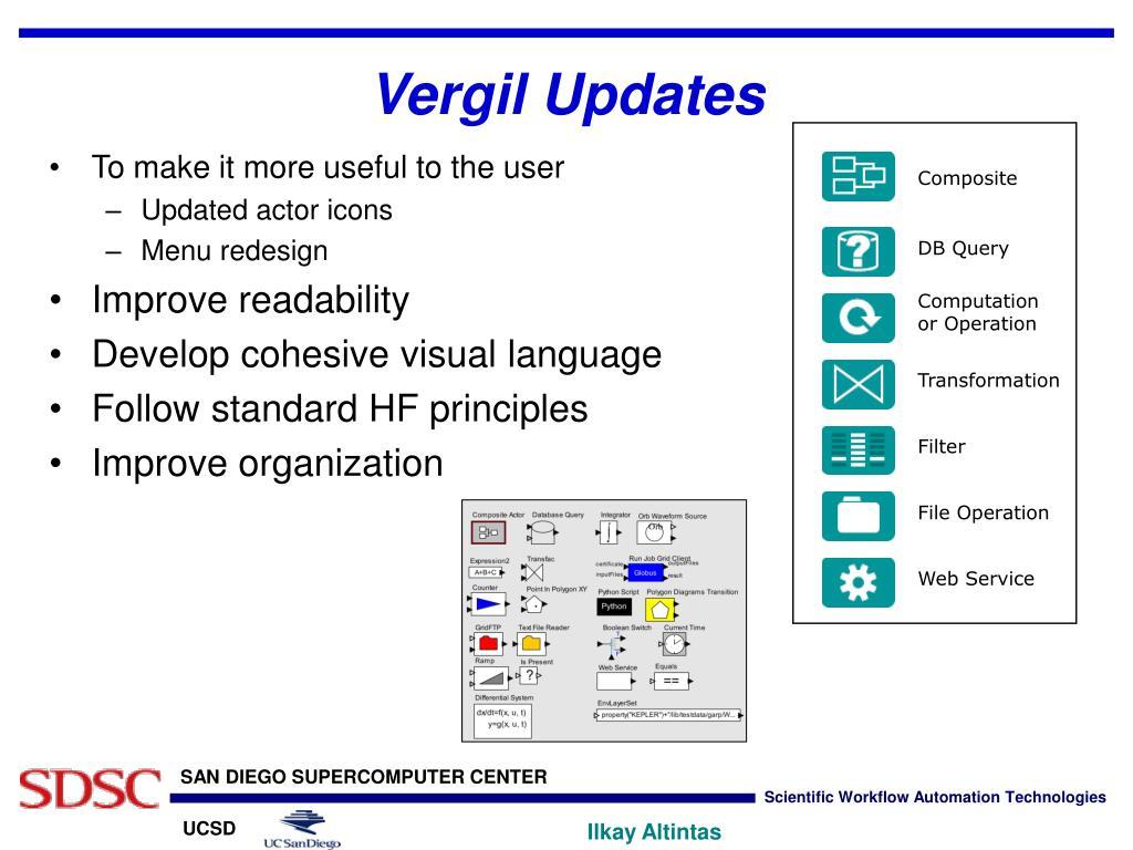 Vergil Updates