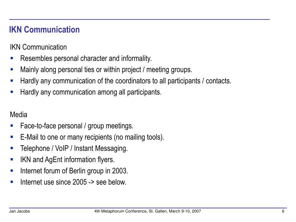 IKN Communication