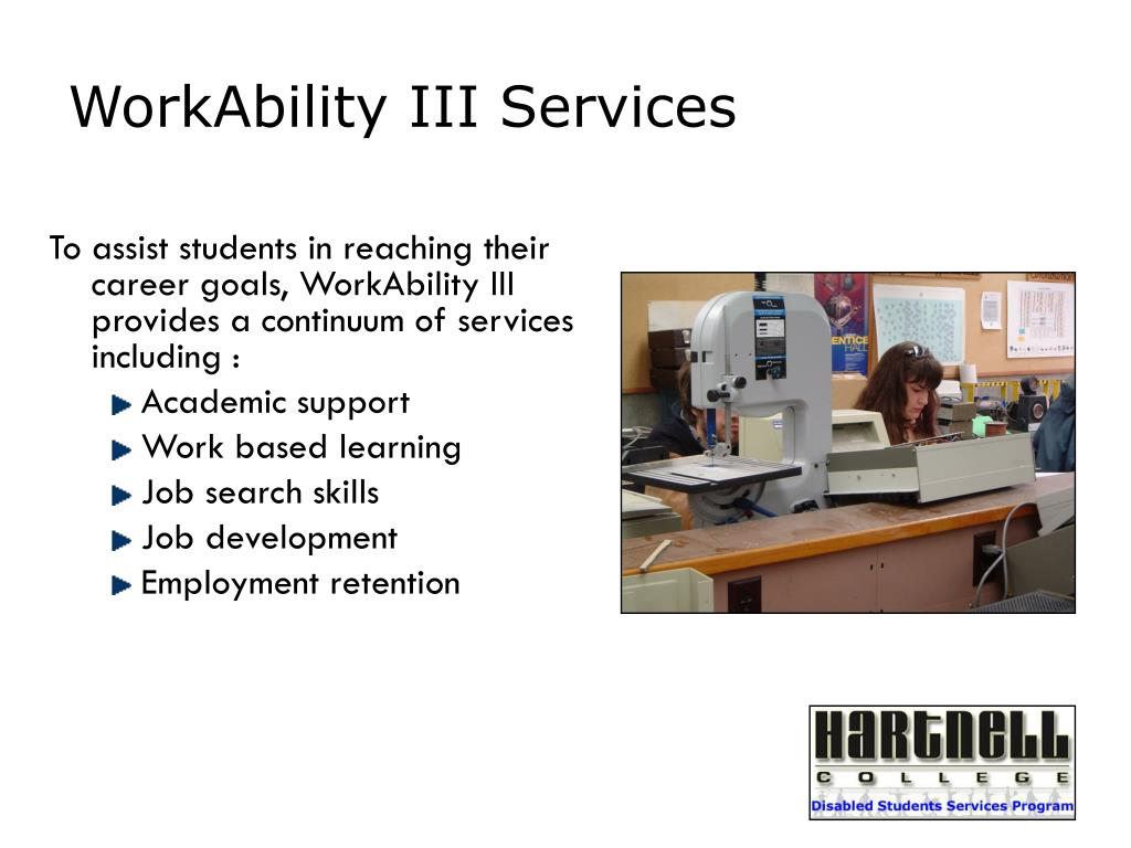 WorkAbility III Services