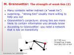 m granovetter the strength of weak ties 2