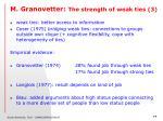 m granovetter the strength of weak ties 3