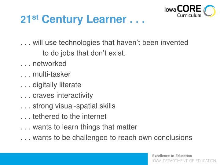 2 1 st century learner