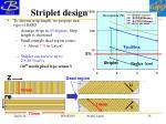 striplet design