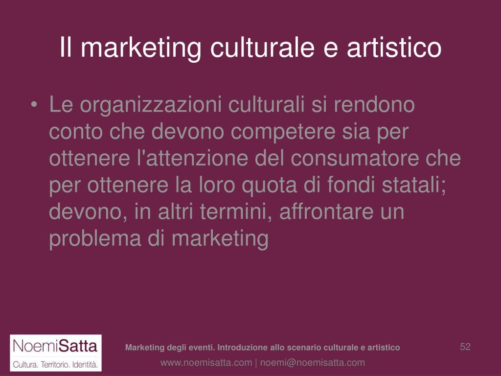 Il marketing culturale e artistico