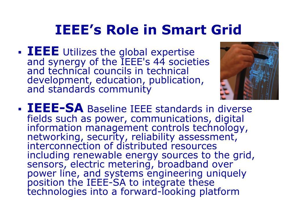 IEEE's Role in Smart Grid